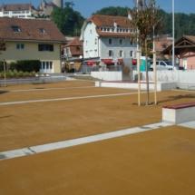 Revêtement beige avec aménagement Lucens6