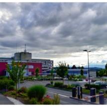Aménagement extérieur parking Hôpital de Payerne